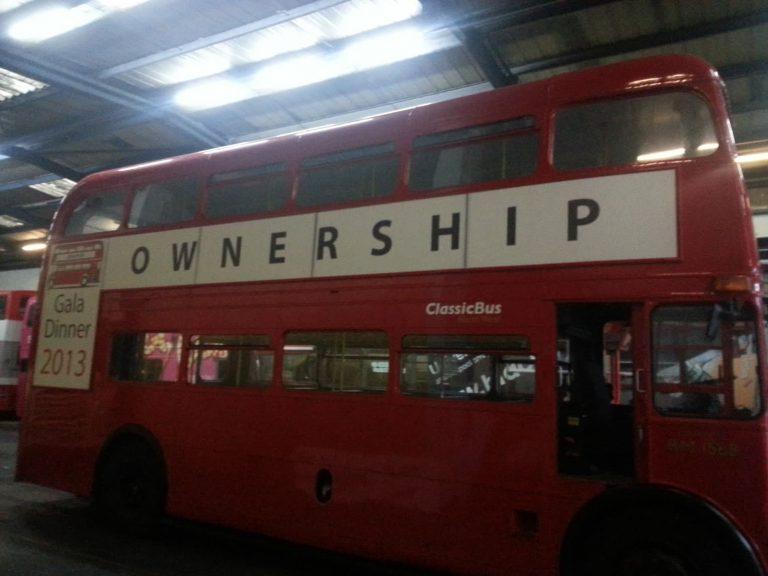 Branded Bus Signage