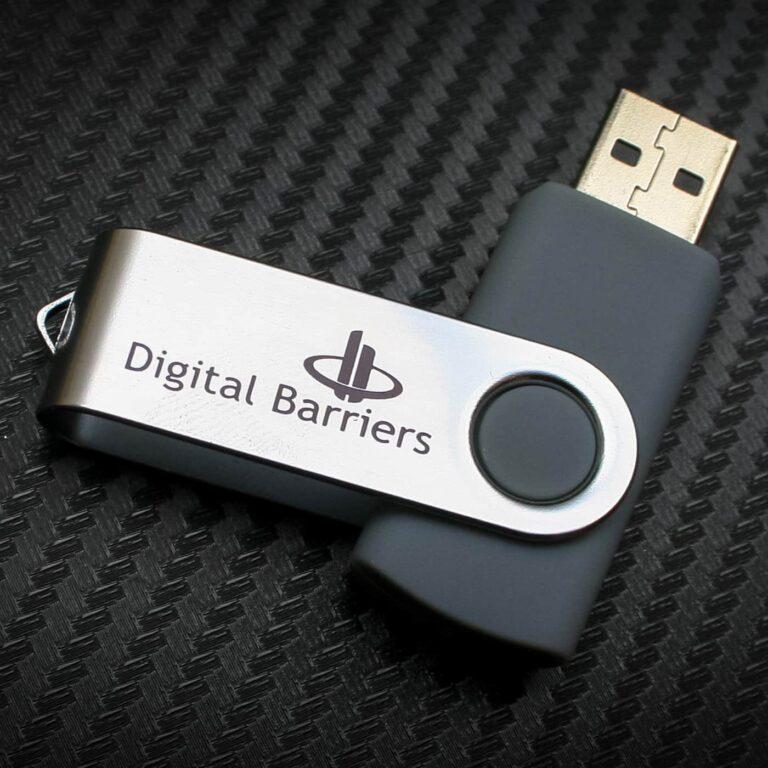 Printed USB Twister Memory Sticks