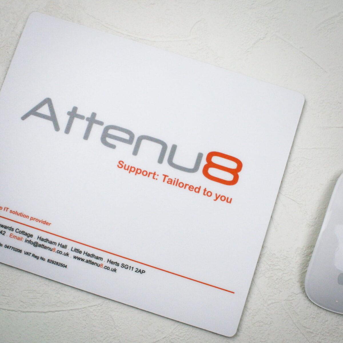 attenu 8 printed mouse matt