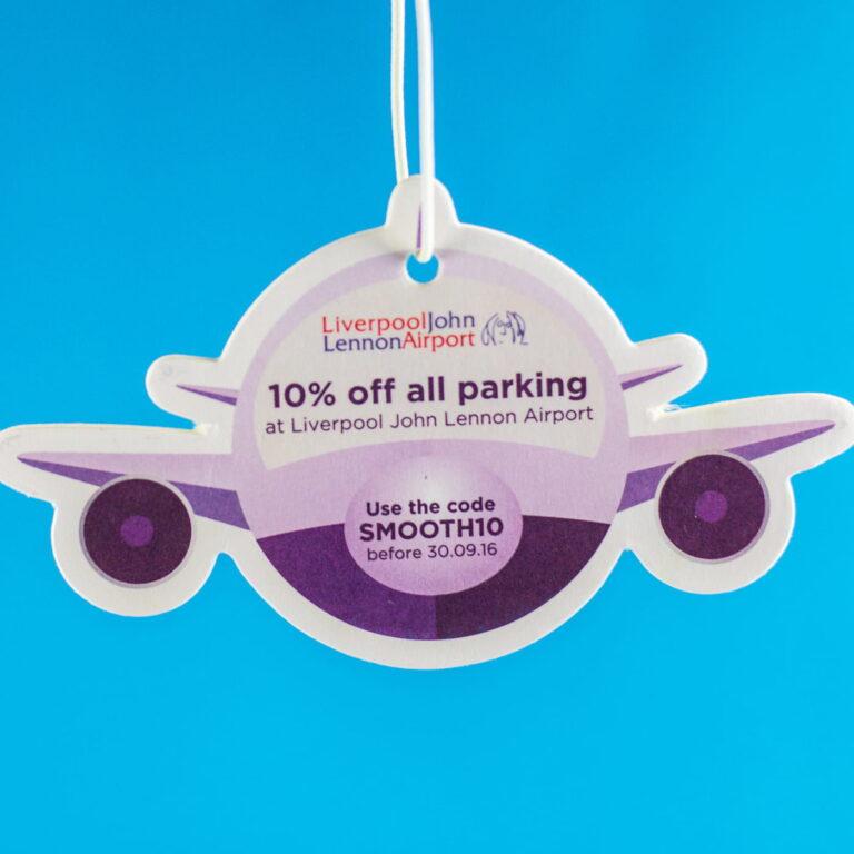 Car Air Freshener Aeroplane Printing