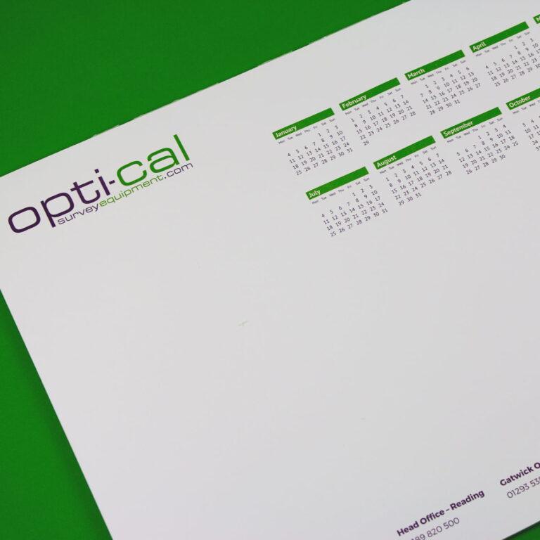 A3 Calendar Desk Pads