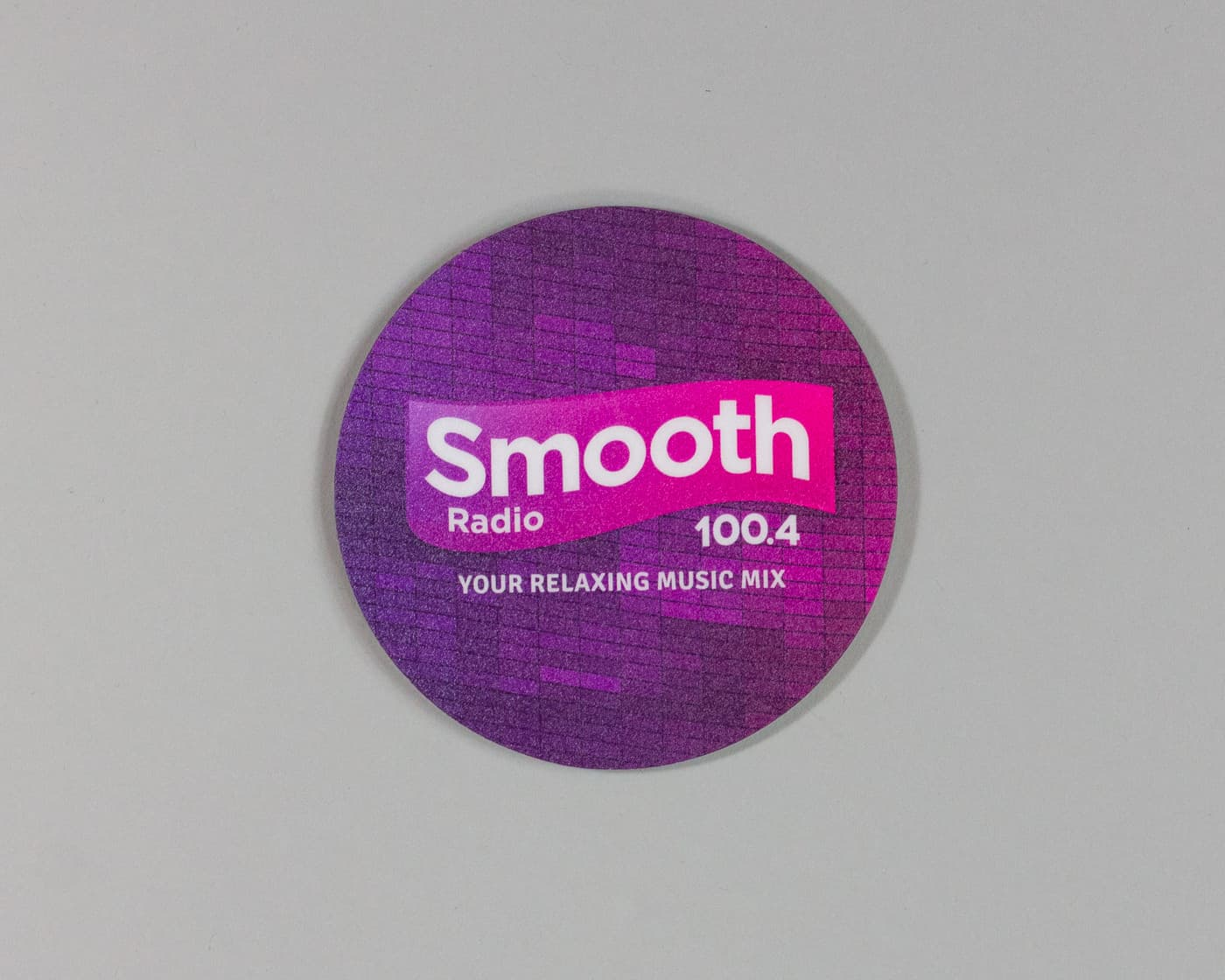Drink Mats - Smooth FM-12