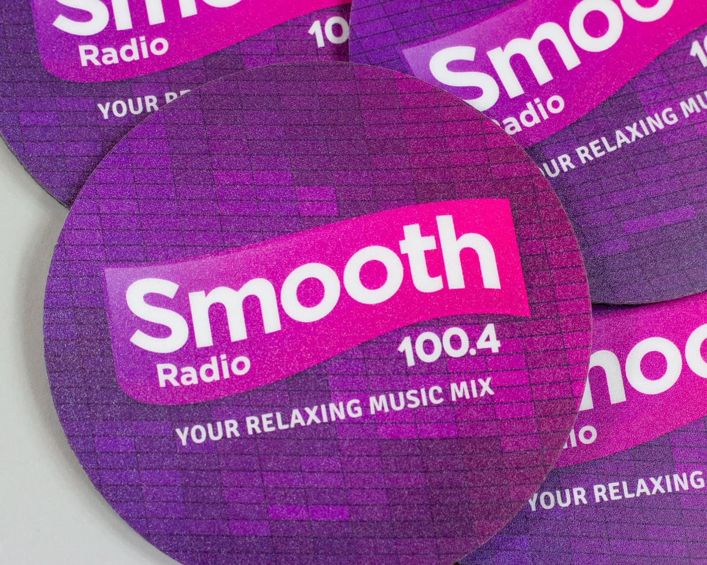 Drink Mats - Smooth FM-20
