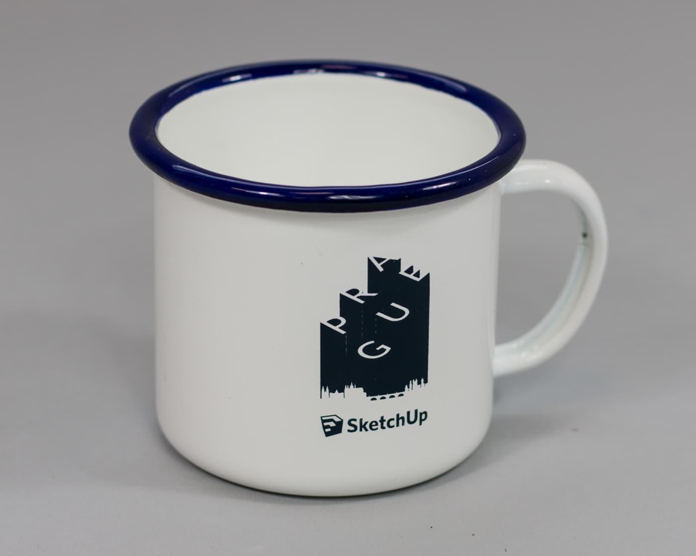 Enamel Printed Camping Mugs - SketchUp-10