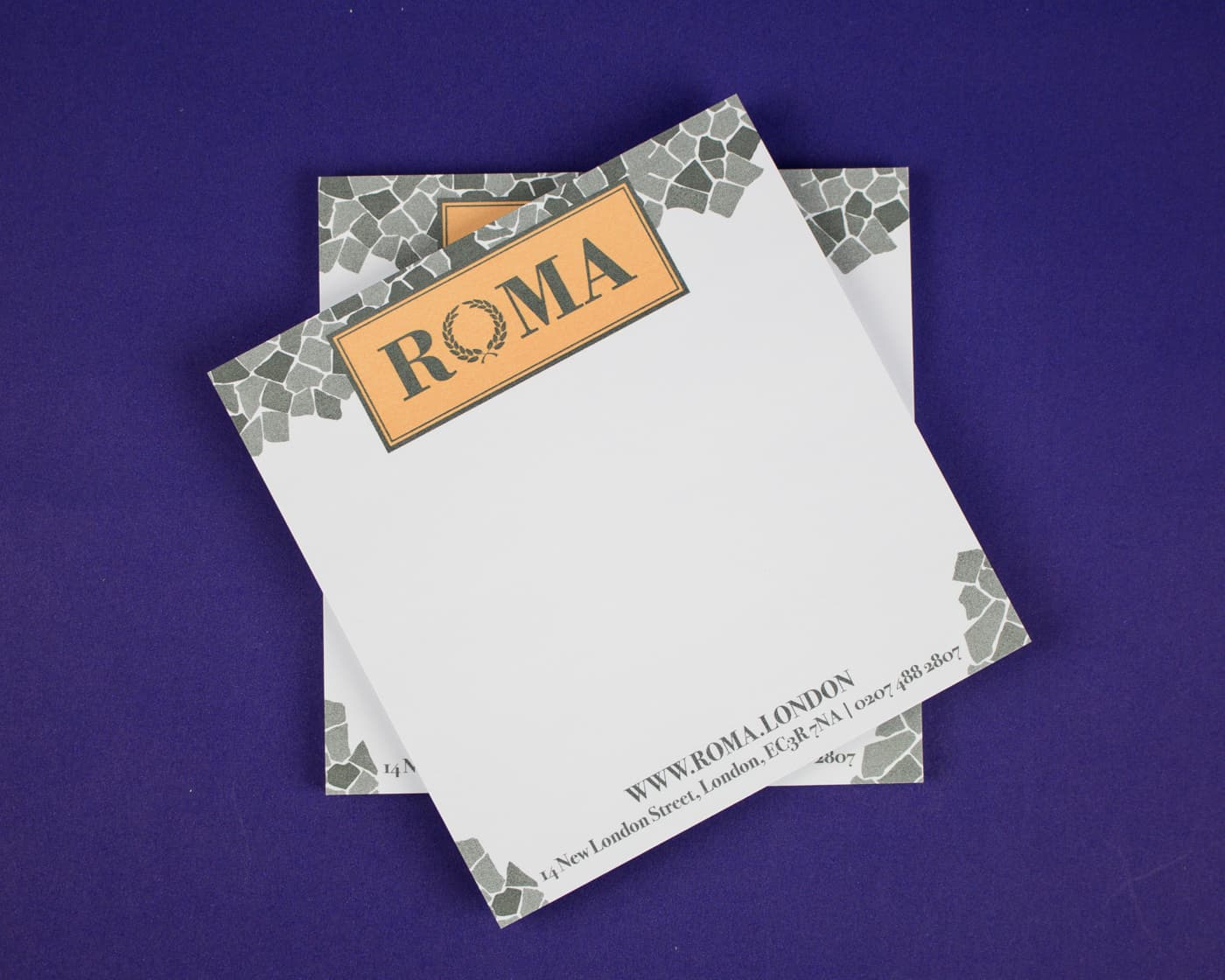 Pads - Roma Printed Note Pads-12