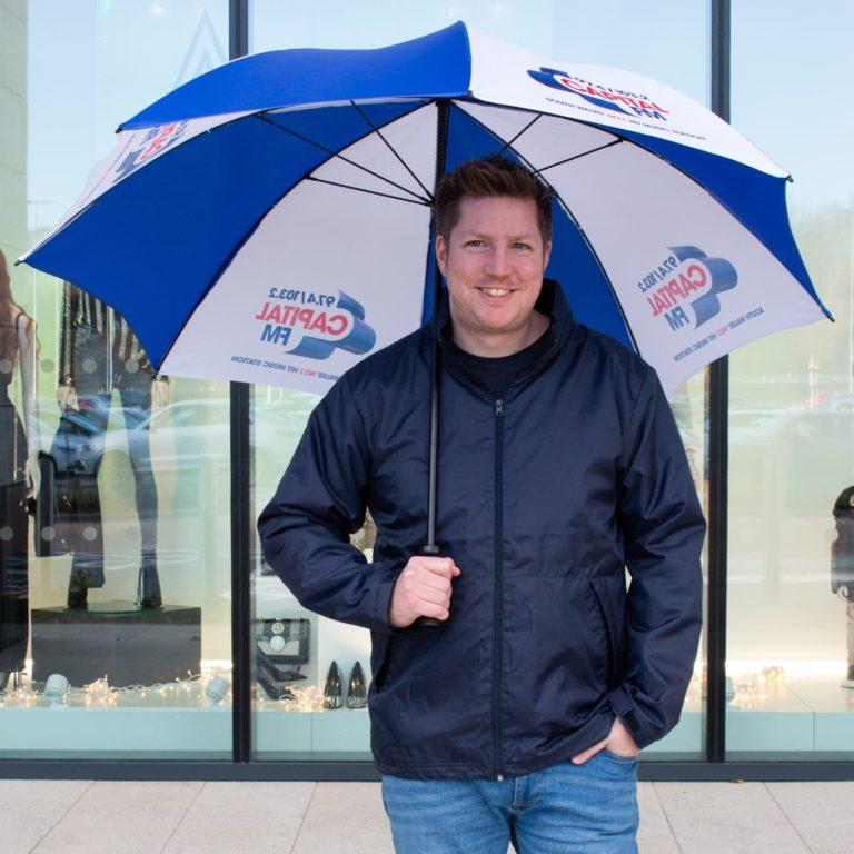 Fibrestorm UK Promotional Umbrellas
