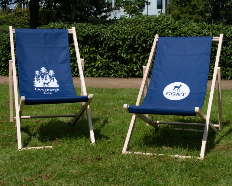 Printed Event Deckchairs