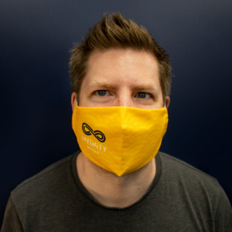 Printed Face Coverings for Staff