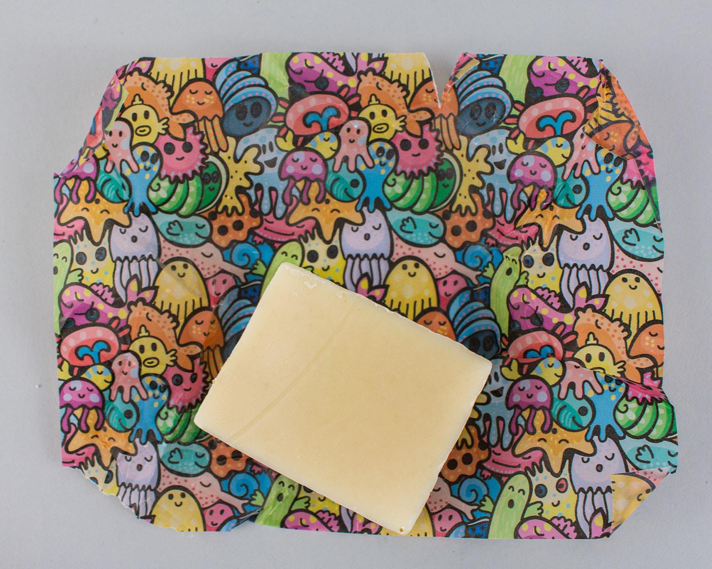 Soap-on-Branded-Tissue-Paper
