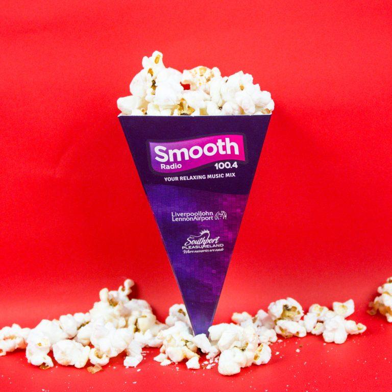 Promotional Popcorn Food Cones