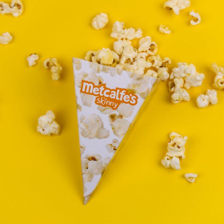 Printed Popcorn Cone