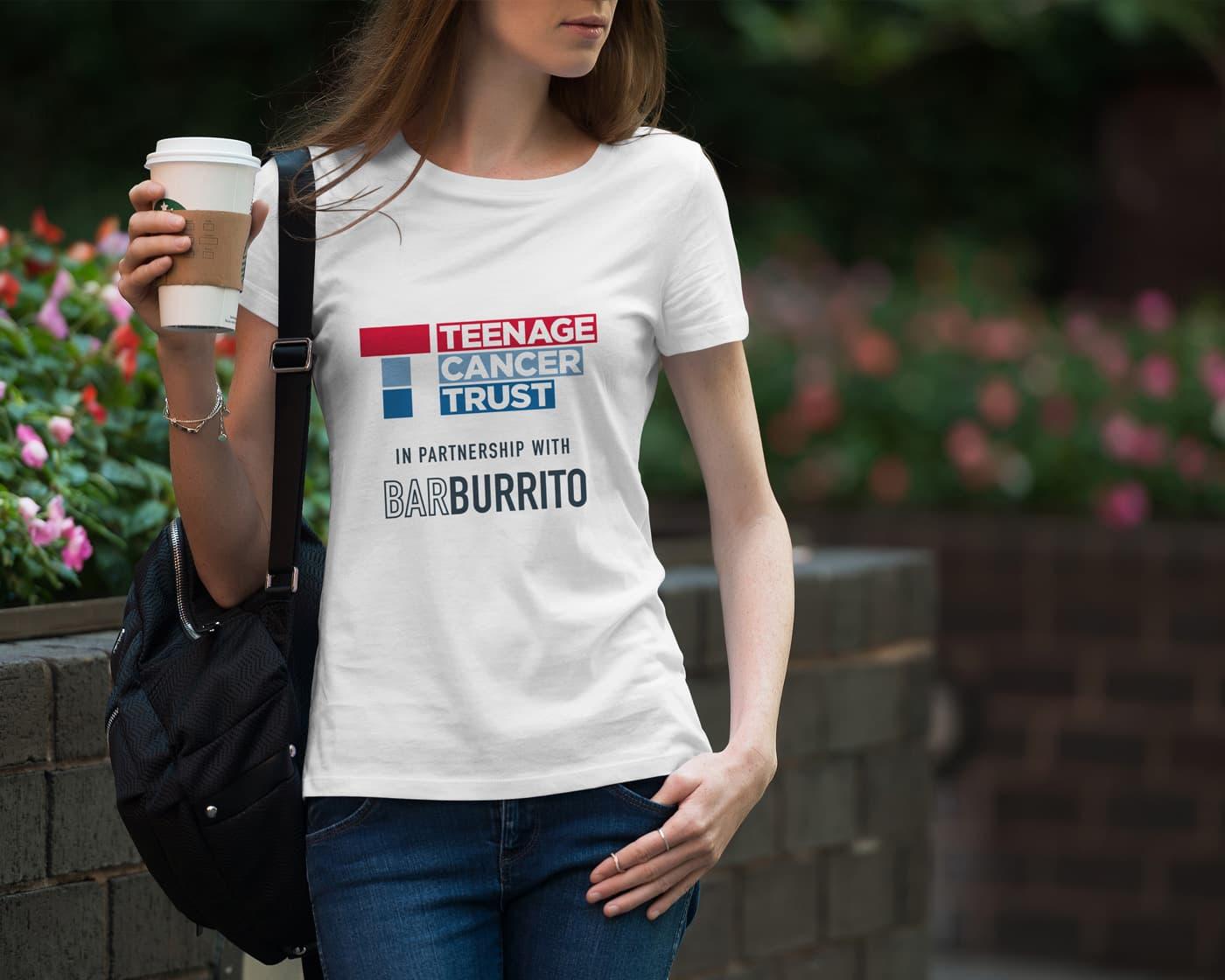 Farnbeyond promotional t-shirt design