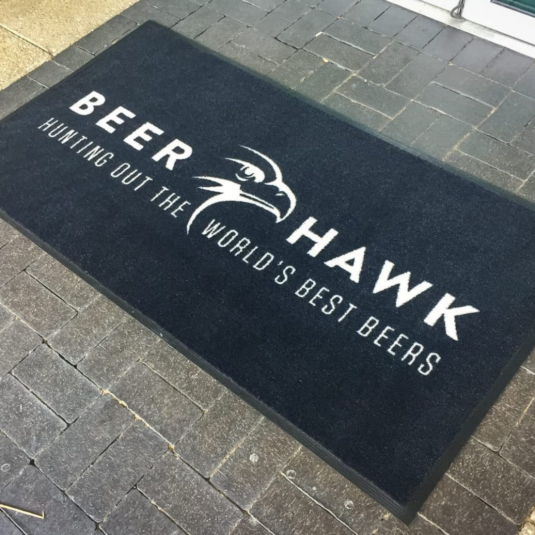Door Mat Printing - Beer Hawlk-4