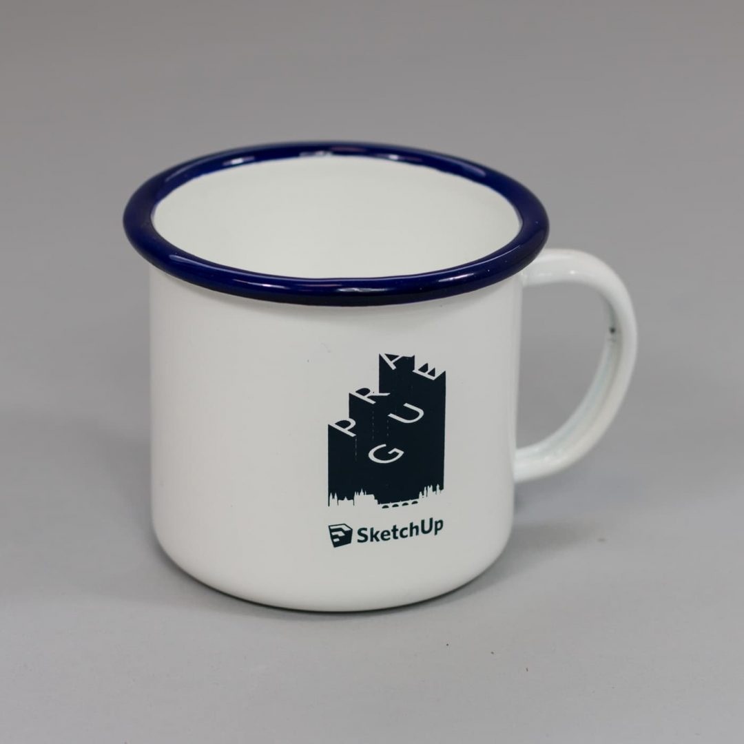 Enamel Printed Camping Mugs - SketchUp-7