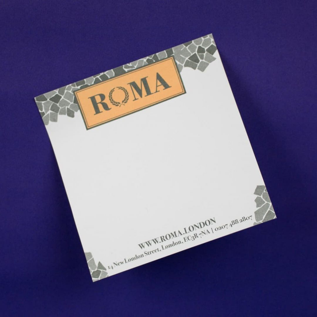 Pads - Roma Printed Note Pads-8