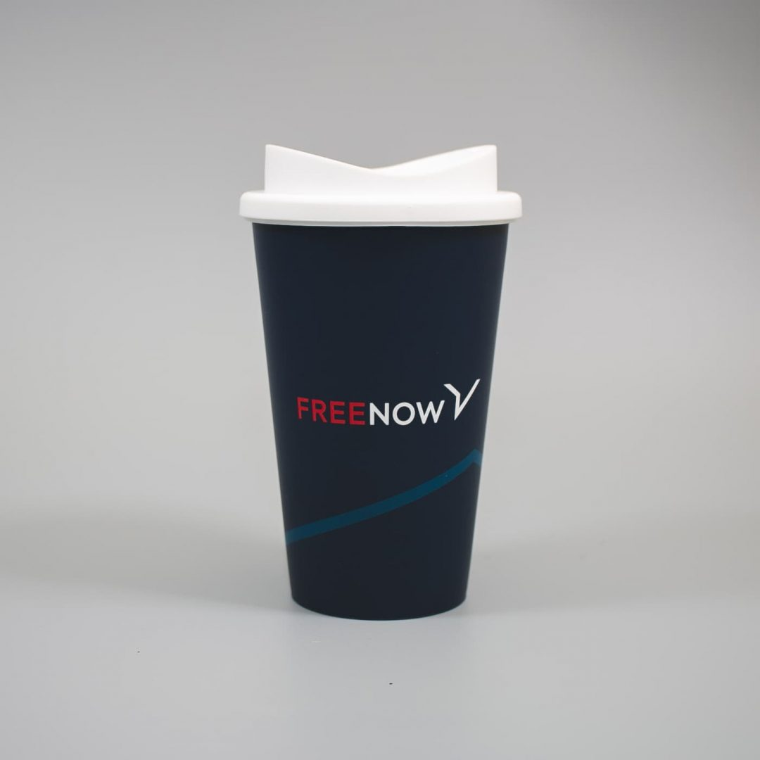 Reuseable Coffee Cup - FreeNow Taxi-1