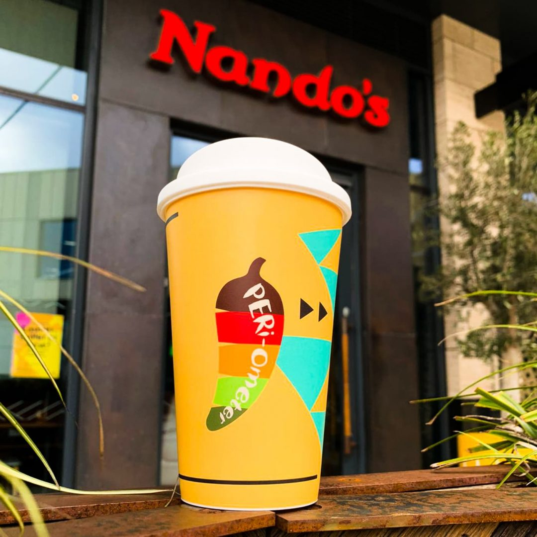 Reuseable Coffee Cup - Nandos-1
