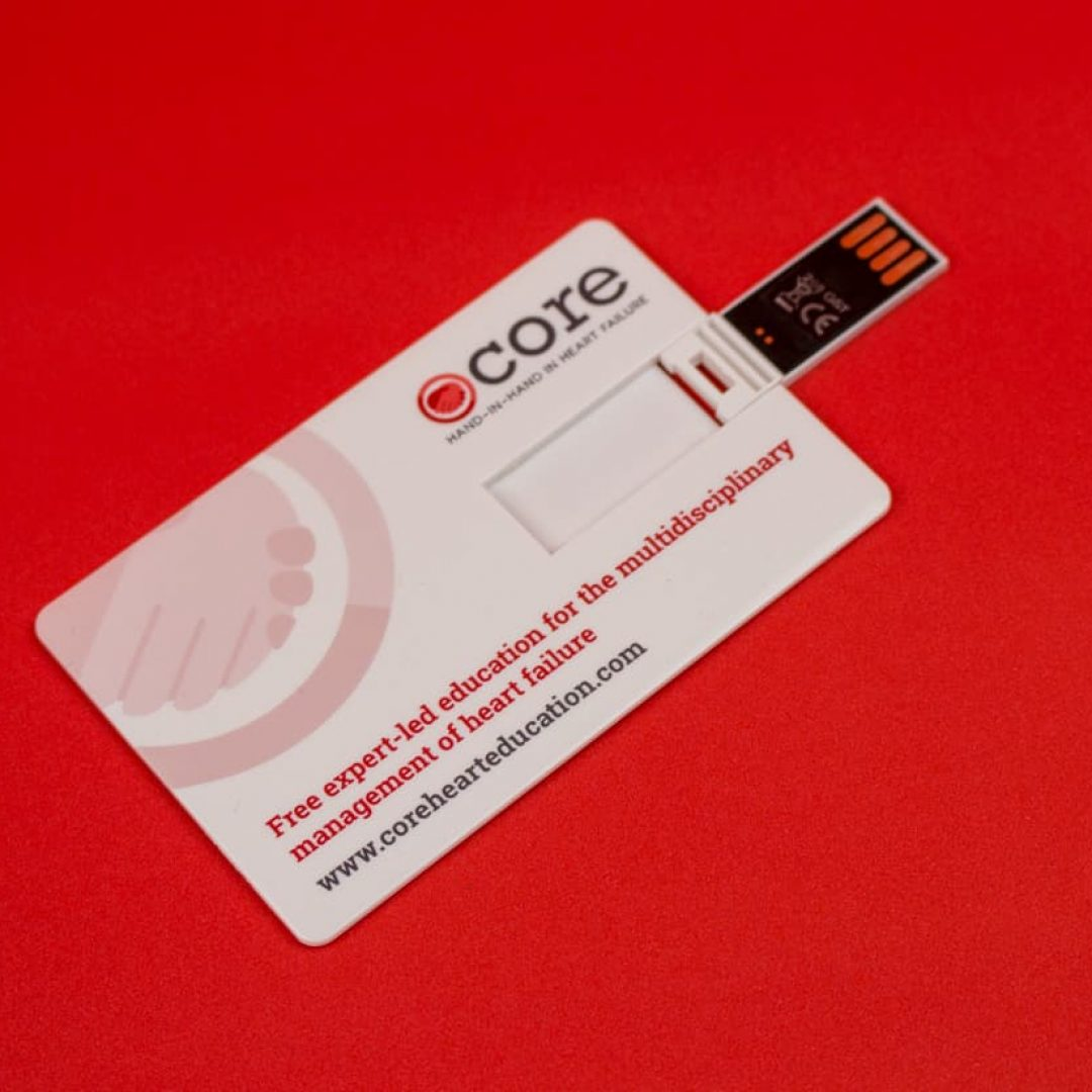 USB Memory Business Cards - Core-8